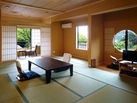 2017年に新たに完成した新館客室