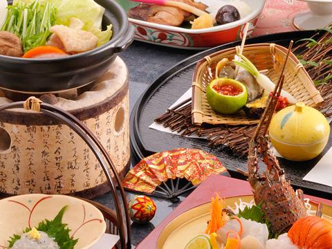 新鮮かつボリュームもある旬の食材を使った料理
