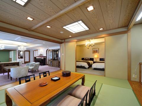 ごゆっくりお泊りいただける広々とした客室