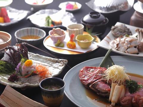新鮮な海の幸を主役にした伊豆のお料理